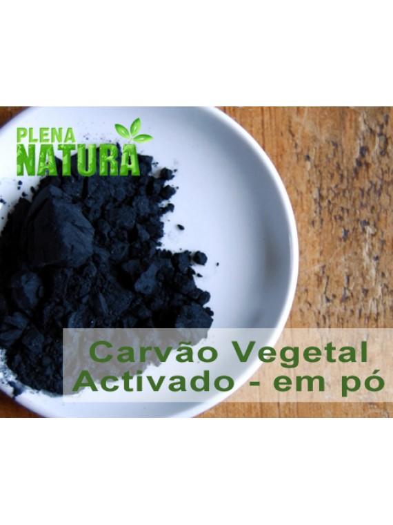 Carvão Vegetal Activado - em Pó