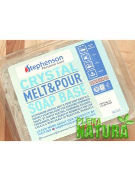 "Base Glicerinada ""Melt&Pour"" Stephenson - TRANSPARENTE - sem SLS"
