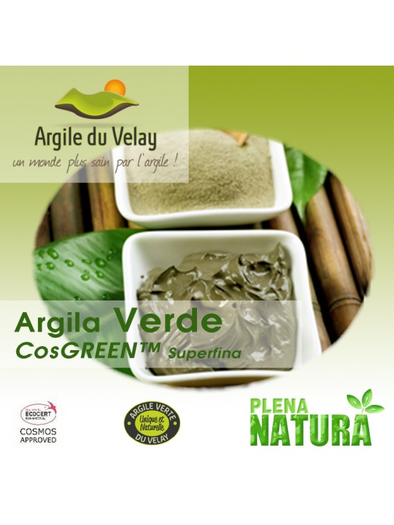 Argila Verde - CosGREEN™ Superfina