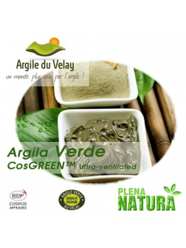 Argila Verde - CosGREEN™ Ultra-Ventilated