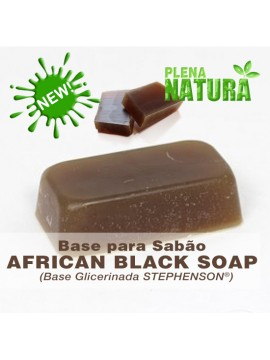 "Base Glicerinada ""Melt&Pour"" Stephenson - African Black Soap"