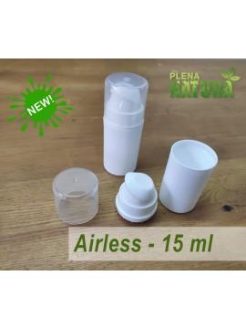 Embalagem Airless - 15 ml (Branco)