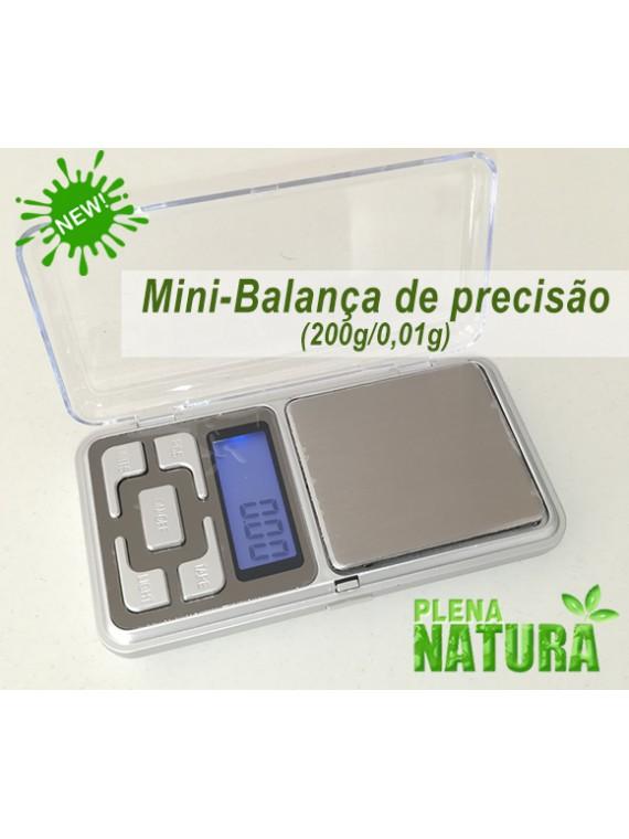 Mini-Balança de Precisão - 200g/0,01g
