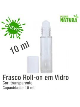 Frasco Roll-on em Vidro - 10ml