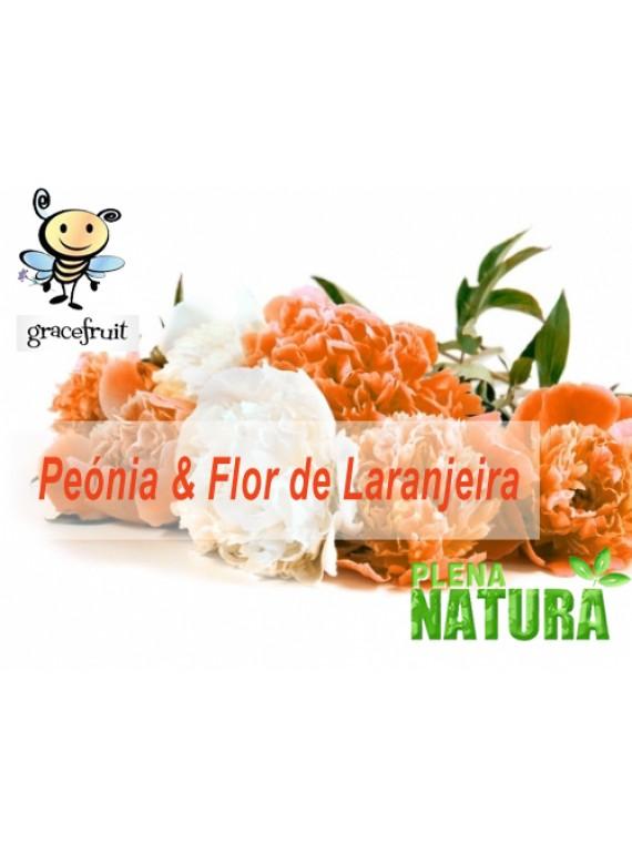 Fragrância de Peónia e Flor de Laranjeira