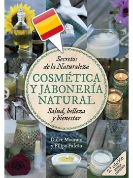 """Livro """"Cosmética & Jabonería Natural"""" - em Espanhol"""
