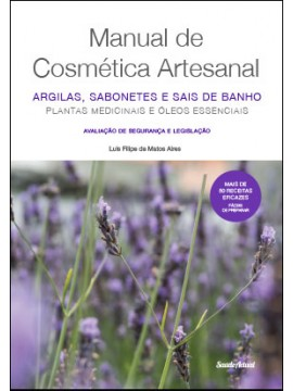 """Livro """"Manual de Cosmética Artesanal"""""""